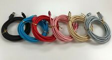 10Ft Micro USB Fast Charger Heavy Duty Charging Cable Cord For Samsung Android