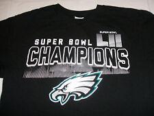 34c5d38f Philadelphia Eagles Super Bowl LII Champions Black Men's Small Delta T-Shirt