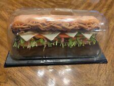 Footlong Subway Feast Replica Sub Sandwich Fake Display Plastic Foods Restaurant
