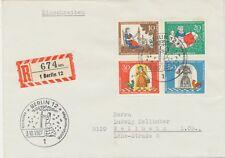 BERLIN 1967, Wohlfahrt: Märchen der Brüder Grimm (IV) Frau Holle kompletter Satz