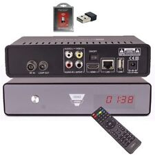 Opticum HD AX ODIN E2 Hybrid DVB-C/T2 Schwarz Kabel/DVB-T2 Receiver inkl. Wlan