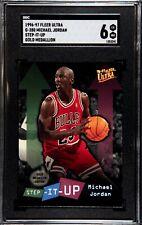 1996-97 Fleer Ultra Michael Jordan Step It Up Gold Medallion Edition #G280 SGC 6