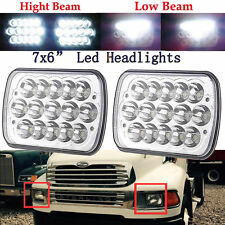 TRUCK LED Headlight Clear Sealed Beam Headlamp For STERLING LT9500 M7500 A9500