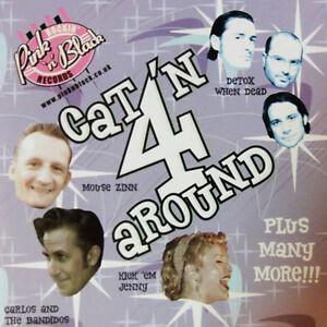CAT'N AROUND Volume 4 CD - NEW - Rockabilly - Rock 'n' Roll