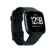 Fitbit Versa Fitness-smartwatch schwarz Neuheit