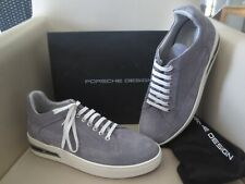 Porsche Herren Schuhe Gr. 42 San Diego grau Leder Sneaker neu