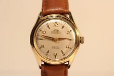 "VINTAGE RARE  MEN'S SWISS GOLD PLATED AUTOMATIC WATCH ""ARSA"" 17 J./MOV.""FELSA"""