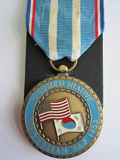 U.S.Korean War Commemorative Medal 1950-1953 in Presentation Case of Issue