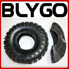 "GL 2PLY 3.50 / 4.10 - 4"" inch Tyre Tire + Tube 47cc 49cc Mini Quad Dirt Bike ATV"