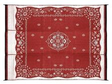 Indoor Rugs Outdoor Mat 9' x 12' Burgundy Asian Oriental Carpets Vacuum Cleaner