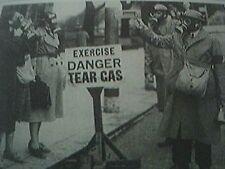 reprint picture ww2 gas alert in brighton