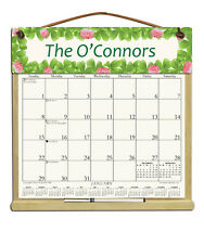 PERSONALIZED CALENDAR WITH 2018, 2019 & AN ORDER FORM FOR 2020 SHAMROCKS