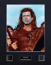 Mel Gibson Ver1 Signed Photo Film Cell Presentation