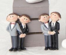 BOMBONIERE MATRIMONIO - MAGNETE CALAMITA MARRIED COPPIA SPOSI UOMINI LUI + LUI