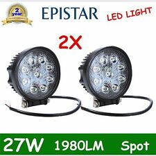 27W 12V 24V led Spot beam lamp Work bulb light truck SUV OFF-Road SUV Boat DEAL