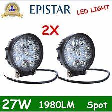 27W 12V 24V led Spot beam lamp Work bulb light truck SUV OFF-Road SUV Boat drive