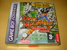 DUEL MASTERS SHADOW OF THE CODE EDIZIONE LIMITATA video gioco Game Boy GBA SP DS