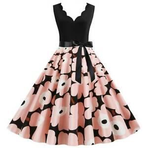 Kurze In Grosse 3xl 50er Damenkleider Gunstig Kaufen Ebay