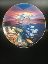Sailfish Serenade From Symphony Of The Sea - Hamilton Collector Plate ~