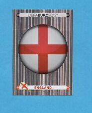 PANINI-EURO 2012-Figurina n.485- SCUDETTO/BADGE - INGHILTERRA -NEW