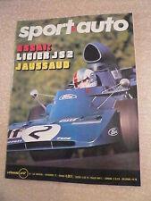 SPORT AUTO  n°130 / nov 72 Essai LIGIER JS 2; MERCEDES S. La MONICA 350. STEWART