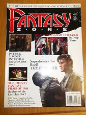 FANTASY ZONE #5 BRITISH MONTHLY FEBRUARY 1990 THE PUNISHER SEAN CUNNINGHAM^