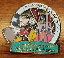 Tokyo Disney Resort Vacation Packages: Cinderella Castle Official Pin *Read*
