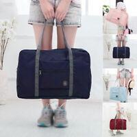 Big Holiday Travel Storage Luggage Carry-on Organizer Hand Shoulder Duffle Bag