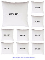 Cushion Pads Hollow-fibre Filled Inserts Inner 16'' 18'' 20'' 22'' 24'' 26'' 30'
