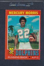 1971 Topps #091 Mercury Morris Dolphins EX *304