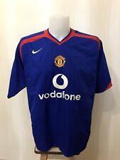 Manchester United 2005/2006 away Sz XL Nike football shirt jersey soccer maillot