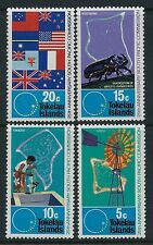 1972 TOKELAU SOUTH PACIFIC COMMISSION ANNIVERSARY SET OF 4 FINE MINT MNH/MUH