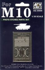 AFV Club 1/35 Scale PE Parts Set for M10 Tank Destroyer Item No. AG35006