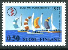 Finland Stamps Scott #509 Sailboats 1971 Mlh
