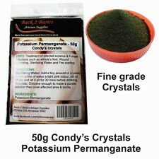 50g Condy's crystals - Potassium Permanganate - fungal - wound - water treatment