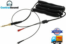 Replacement Coiled Cable for HD25 HD25-1 II HD25-C HD25-13 Sennheiser Headphones