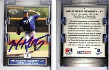 Mike Montgomery Signed 2008 TRISTAR Prospects Plus #44 Card Kansas City Royals