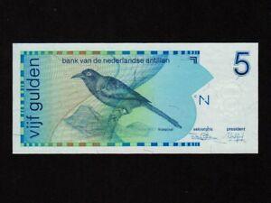 Netherlands Antilles (Curacao):P-22a,5 G,1986 * Troepiaal * UNC *