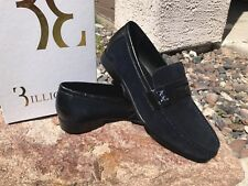 Billionaire Men's Shoes Suede Chrome Badge Leather Back Suede 40 Phenomena;