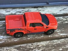 Maisto Ford F-150 Raptor Pickup Truck - Red  - Made in China Approx 1:64