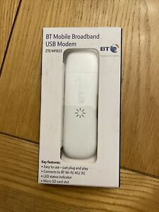 BT Mobile Broadband USB Modem ZTE MF823
