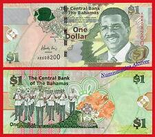 BAHAMAS 1 Dollar Dolar 2015 Pick 71A  SC / UNC