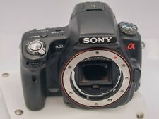 Sony Alpha A33 Digital SLT Camera - No Power ERR AS-IS