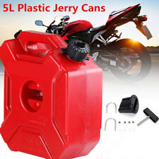 Durable 5L Plastic Jerry Can Gas Diesel Petrol Fuel Tank Oil Container Fuel-jug