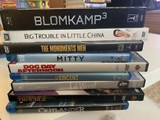Lot Of 8 - Mixed Genre DVDs and Blu Ray B