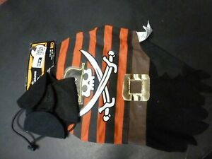 """Dog Size Medium Pirate Costume NEW Adorable Pet Outfit 14-15""""  FREE SHIPPING"""