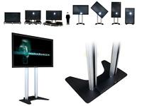 mobiles Fernseher System mit 80 Zoll Display