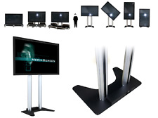 mobiles Fernseher System mit 80 Zoll Display
