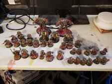 Well painted and based Grey knights army warhammer 40k