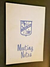 LeClaire European Hotel Meeting Notes Le Claire Moline Illinois Advertising